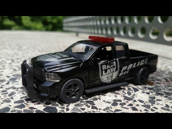 SIKU Super 1:50 RAM 1500 US Police Car Unboxing