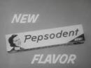 Старая реклама  зубной пасты Pepsodent