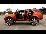 WhipAddict Super Sound System! Cadillac SRX on Starr Wheel 34s, Over 30 Speakers