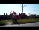 Легендарный поезд в честь Дня освобождения Симферополя от немецко-фашистских захватчиков.