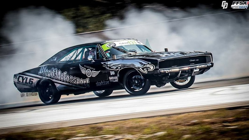 Championnat de France de drift Paul Ricard / Castellet / Dodge Charger Drift Project