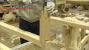 Amazing Japanese Carpenter Skills - Building and Installing of The Underframe Lattice Frame