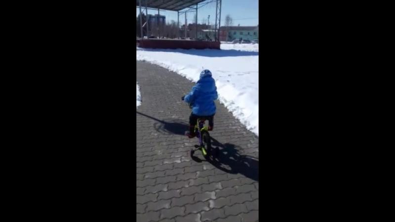 Долгожданный велосипед!!