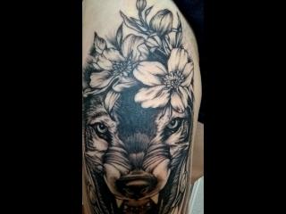 😍🐺BlackCatTattooArtist tattoo_lviv tattoo тату_львів  татуювання львів art татульвів tattooartist татуировка @ Lviv, U