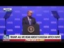 Trump shames Mueller team in NRA speech, on heels of judge's rebuke