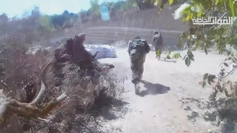 Выпуск бойцов Специальных сил Джейш Аль Ахрар в Риф Идлиб