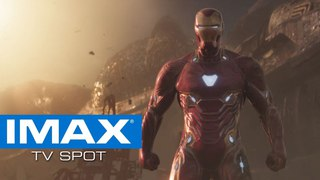 Новый ТВ-ролик фильма «Мстители: Война бесконечности» от IMAX