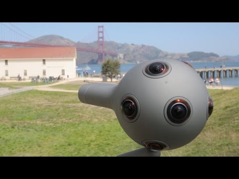 Nokia's Ozo VR rig shoots and edits pro quality immersive 360 video