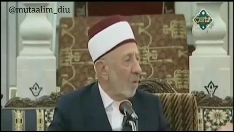 Авлия (любимцы Аллаha) - Рамазан аль-Буты