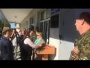 Митинг Открытие доски Павельеву А С