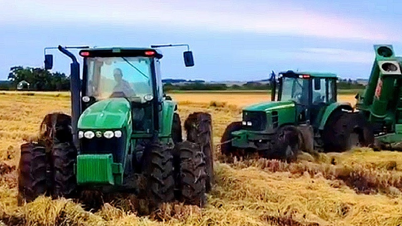 Big Tractors In The World | Best of Motor Sound