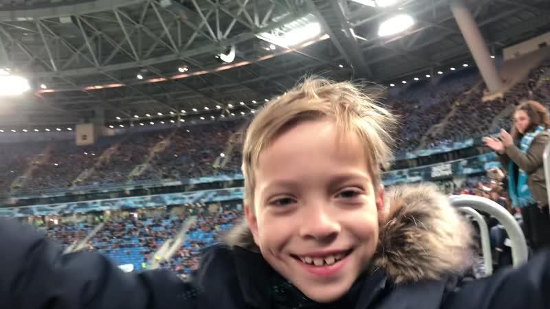 Зенит-Шальке. Второй гол