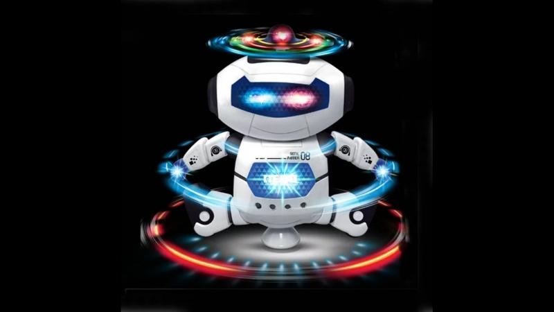 Танцующий робот с AliExpress