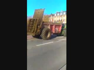 Wütende Bauern in Frankreich verteilen Mist !Das wird Macron aber stinken