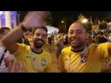 Бразильцы реагируют на гол Хорватии