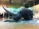 Это Эласмотерий — огромный волосатый носорог, который существовал больше 29 тысяч лет назад…