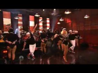 Christina Aguilera – Candyman (Live Tonight show with Jay Leno)