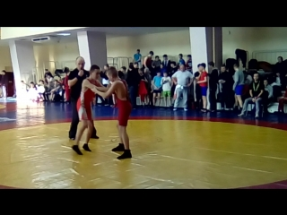 5 место в соревнованиях по Греко - римской борьбе на первенстве города Минск