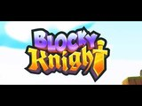 Blocky Knight android game first look gameplay espa