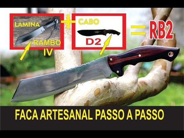 Knife Making - Faca artesanal passo a passo