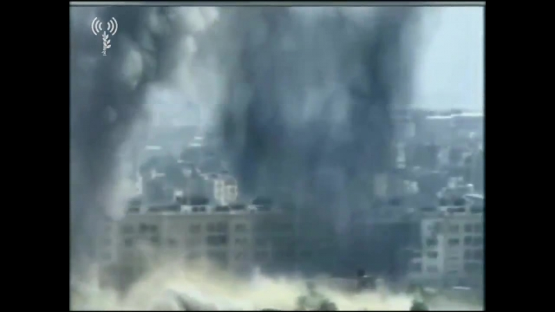 Video of some of the Israeli airstrikes in Gaza today IDF