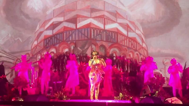 Björk The Pleasure Is All Mine live @ Paris We Love Green 2018