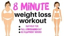 WEIGHT LOSS WORKOUT QUICK HOME FITNESS EXERCISE VIDEO WITH THE BEST EXERCISES FOR WEIGHT LOSS