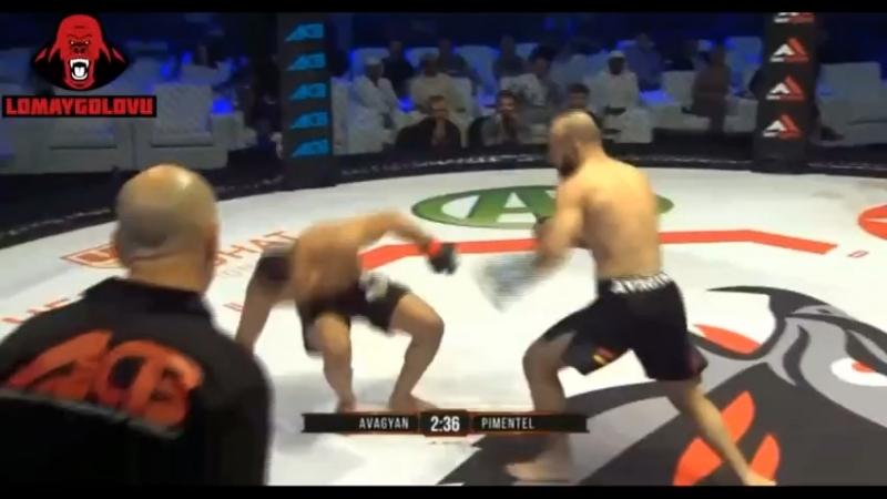 """Боец Promotion """"LOMAYGOLOVU"""" Narek Avagyan"""