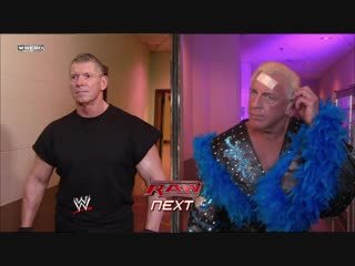 Ric Flair Vs Vince McMahon - Career-Threatning Street Fight - RAW 17.03.2008