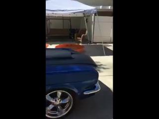 Classic american muscles car - mustang