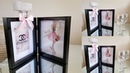 GLAMOROUS CHANEL PERFUME SHADOW BOX | BEAUTIFUL DECOR