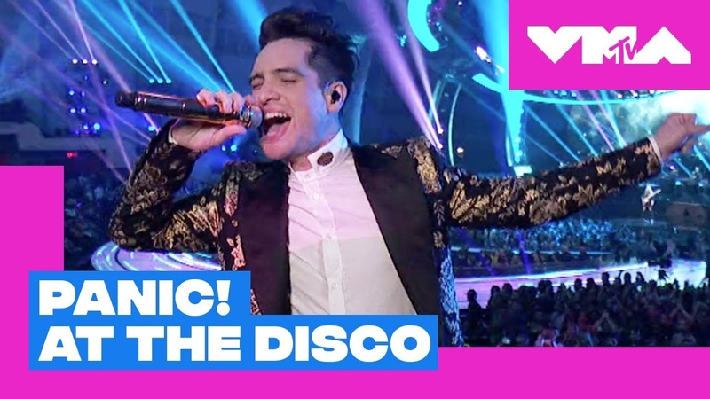 Panic! At The Disco Perform High Hopes (Live Performance) | 2018 Video Music Awards