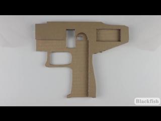 Как сделать пистолет-пулемет