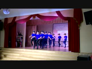 Отважным пожарным поем мы песню. 29.11.18. Выступление на районном конкурсе патриотической песни ребят 107 гимназии.