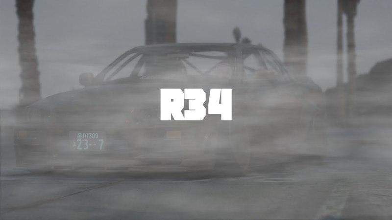 GTA V | NISSAN SKYLINE R34 GTT ( Cinematic / Chill Edit )
