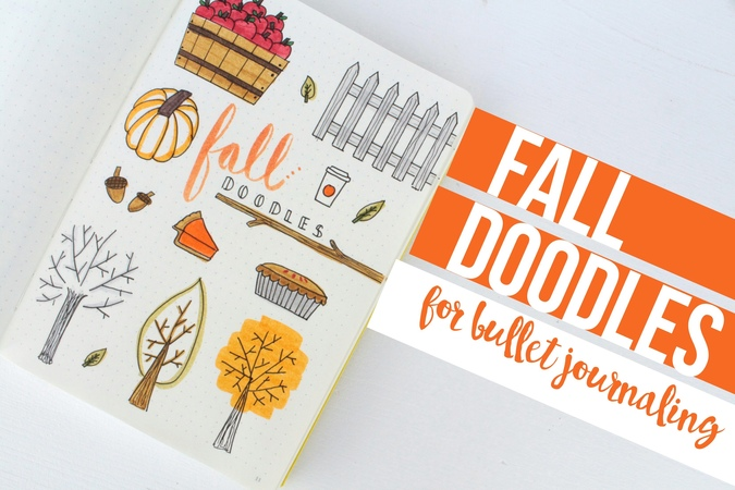Bullet Journal DOODLE WITH ME | Fall Edition