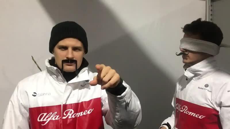 Movember Moustache Blindfold Challenge