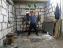 Парный рывок гирь по24 кг вверх дном