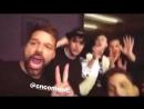 Ricky Martin instastory 09.03.18 CNCO