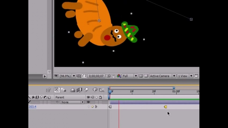 After Effects Tutorial 12 Holding and Roving Keyframes