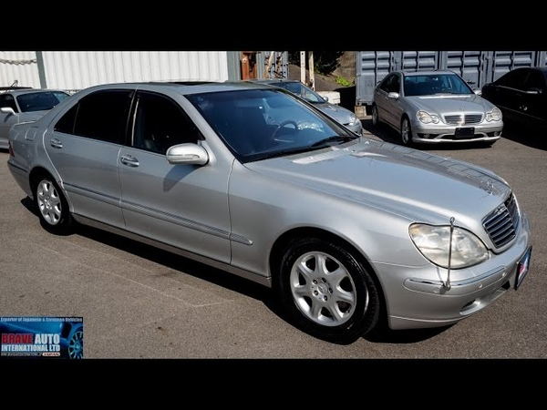 Walk Around 1999 Mercedes Benz S500L - Japanese Car Auction