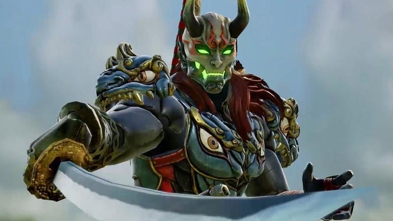 Soulcalibur 6 - 8 Minutes of Yoshimitsu, Talim, and Gr0h Gameplay - Comic Con 2018