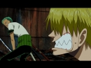 One Piece _ Funny Moment! - Zoro, Sanji ван пис прикол аниме