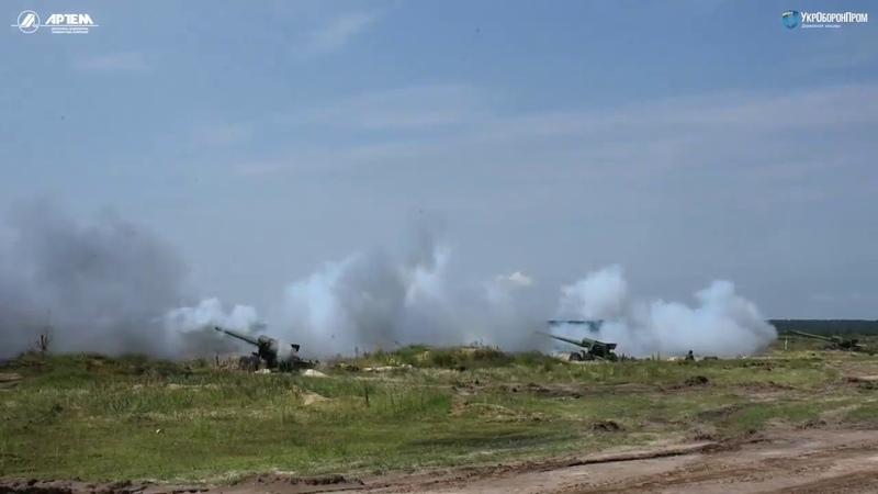 152 мм снаряды для Гиацинт от ГАХК Артем успешно прошли испытания