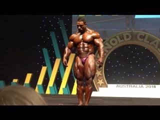 Arnold Classic Australia 2018 - Roelly Winklaar Posing Routine