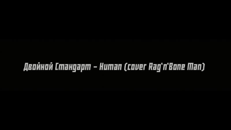 DS (Двойной Стандарт) - Human (rag'n'bone man cover)