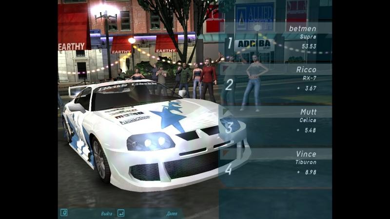 Need For Speed - Underground ( Nik. Grom. )