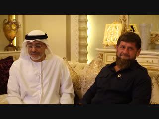 Встретился с председателем Совета директоров Фонда Халифа шейхом Хусейном Джасим аль Новэйсом.