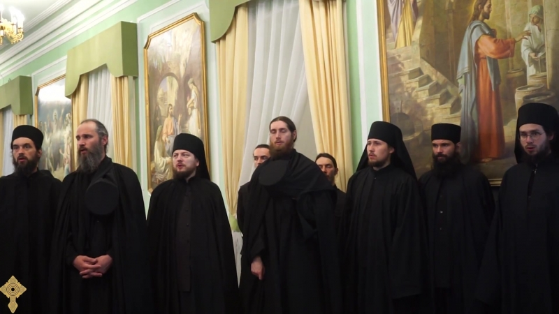 Блажим Тя вси роди Богородице Дево Хор Валаамского монастыря