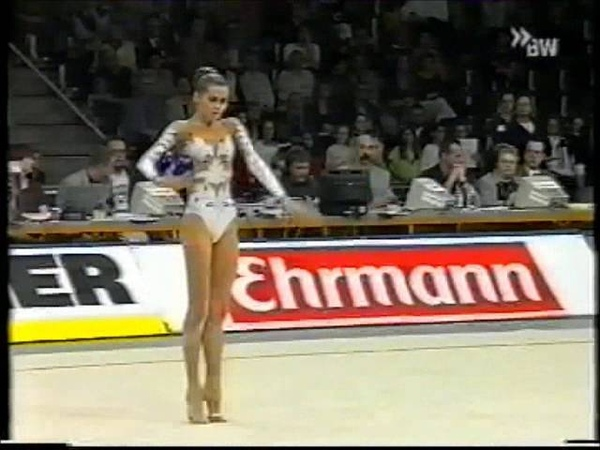 Юлия Барсукова мяч финал Кубок Мира 2000 Карлсруэ